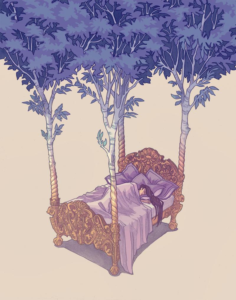 Copse, by Caitlyn Kurilich